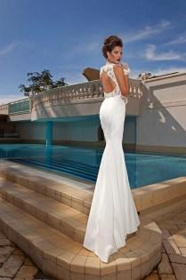Sexy Sleeveless Mermaid Wedding Dresses