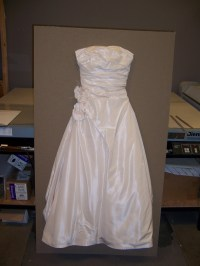 Shadow Box Wedding Dress