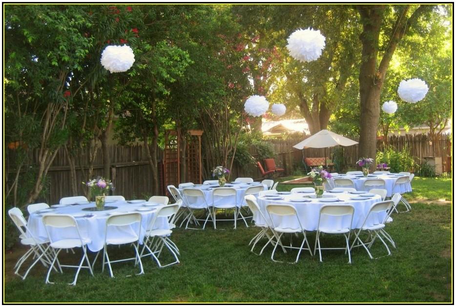 Simple Backyard Weddings