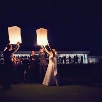 Sky Lanterns Wedding