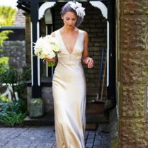 Sleek And Elegant Liquid Satin Wedding Dresses