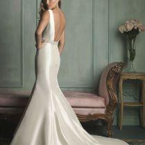 Sleek Satin Wedding Dresses