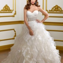 Strapless Wedding Dresses With Diamonds Puffy Images For Puffy