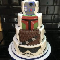 The Force Is Strong With This One Surprise Starwars Wedding