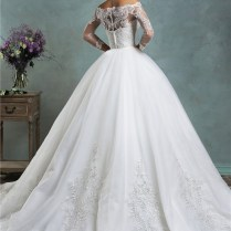 Unique Mermaid Vintage Lace Long Sleeve Wedding Dress With