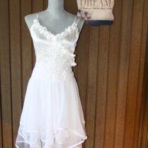 Upcycled Wedding Dress Shabby Chic Tattered By Belladonnabohemia