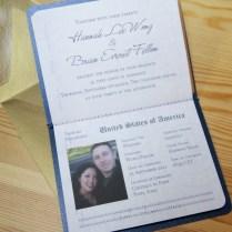 Us Passport Invitation Passport Wedding Invitations To Create