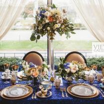 Vintage Meets Royal Glam Wedding Ideas