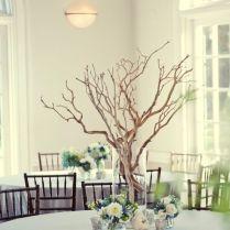 Wedding Fashionable Decorating Twig Centerpieces For Wedding