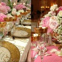 Wedding Pink Centerpieces For Wedding