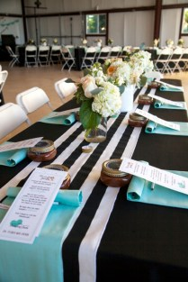 Wedding Turquoise And Black Wedding Ideas