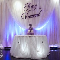Wedding Backdrop Decoration On Decorations With A Romantic