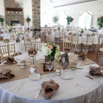Wedding Burlap Table Runners — Contemporary Desk And Table