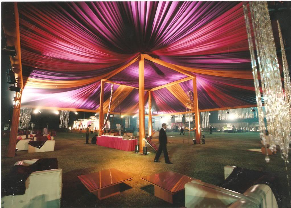 Tent Wedding Decoration Ideas