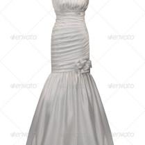 Wedding Dress On Mannequin Stock Photo By Gsermek