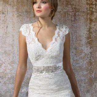 Wedding Dresses For Older Brides Jean Decorative Shift 2500