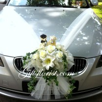 Wedding Flowers Wedding Car Flower