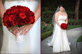 Wedding Flowers Bridal Bouquet Red