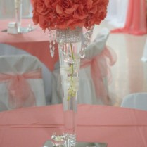 Wedding Flowers Ideas Coral Flowers Wedding Centerpieces Combined