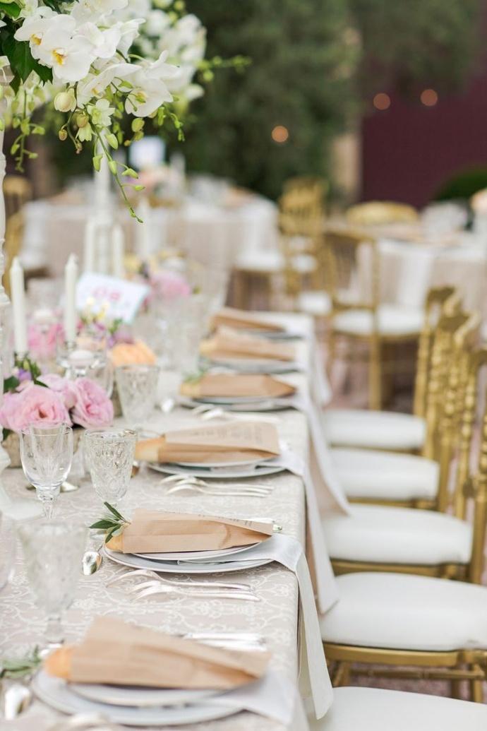 Wedding Place Setting Ideas