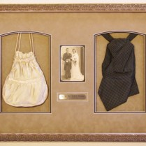 Wedding Shadowbox With Engraved Plate