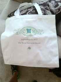 Wedding Welcome Bag Card Wording