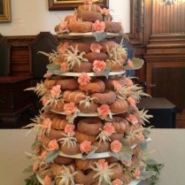 We're Obsessed It's A Federal Donuts Wedding Cake!