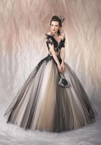 Where To Buy Gothic Wedding Dresses Ball Gown Sleeves Online