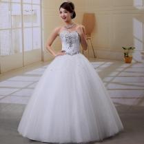 White Wedding Dresses With Diamonds Naf Dresses