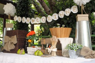 Wishing Well And Card Table @ Lovestruck Weddings And Events