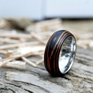 Wood Wedding Rings For Men
