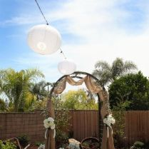 1000 Ideas About Burlap Wedding Arch On Emasscraft Org