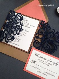1000 Ideas About Coral Wedding Invitations On Emasscraft Org
