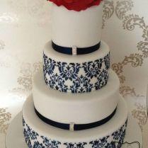 1000 Ideas About Damask Wedding Cakes On Emasscraft Org