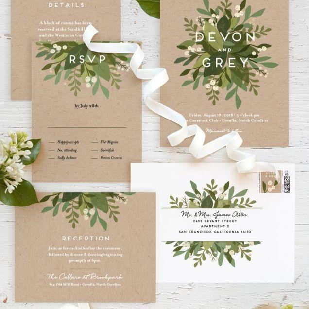 1000 Ideas About Garden Wedding Invitations On Emasscraft Org