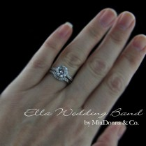 1000 Ideas About Mismatched Wedding Bands On Pinterest Stacked