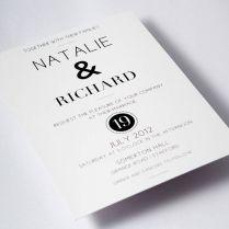 1000 Ideas About Modern Wedding Invitations On Emasscraft Org
