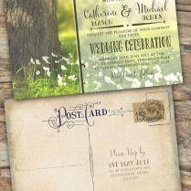 1000 Ideas About Postcard Wedding Invitation On Emasscraft Org