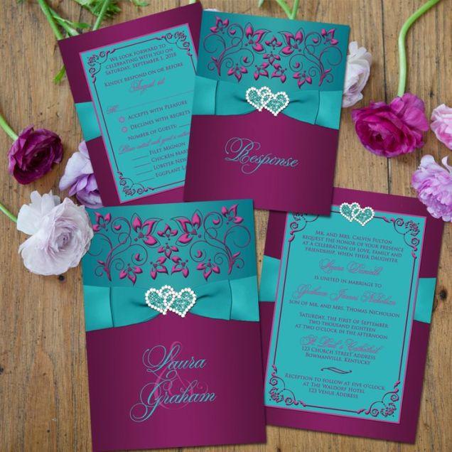 1000 Ideas About Purple Teal Weddings On Emasscraft Org