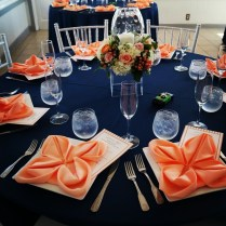 1000 Images About Orange Wedding & Event Decor Inspiration On