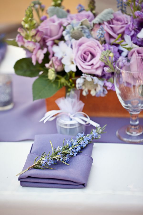 Lavender Table Decorations For Weddings