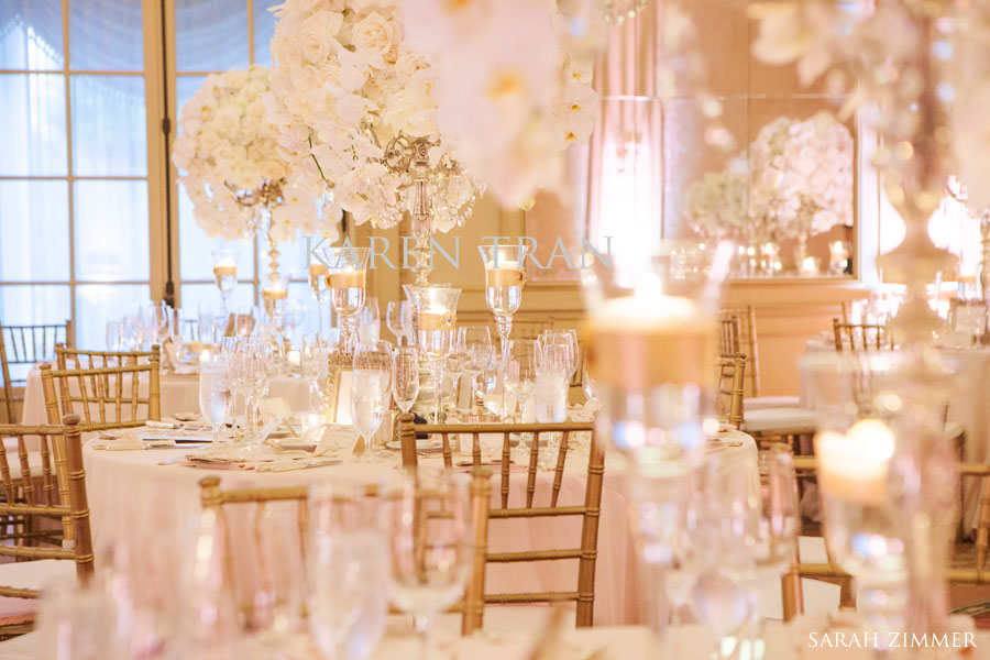 Wedding Decoration Gold And White