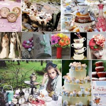 10 Images About Alice In Wonderland Themed Wedding On Emasscraft Org