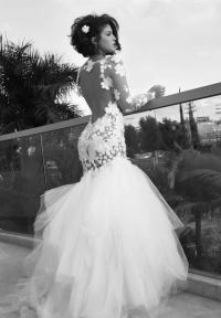 Black Women Wedding Dress