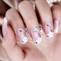17 Images About Bride Nail Designs On Emasscraft Org