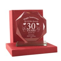 2017 Brilliant Gifts For 30th Wedding Anniversary Ideas