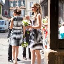 20 Ways To Rock Black White Stripes At Your Wedding
