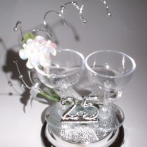 25th Wedding Anniversary Cake Ideas Celebrate 25th Wedding
