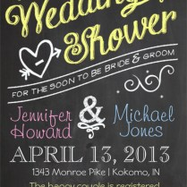 26 Wedding Shower Invitation Templates – Free Sample, Example