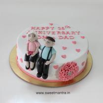 35th Wedding Anniversary 9 Cakes